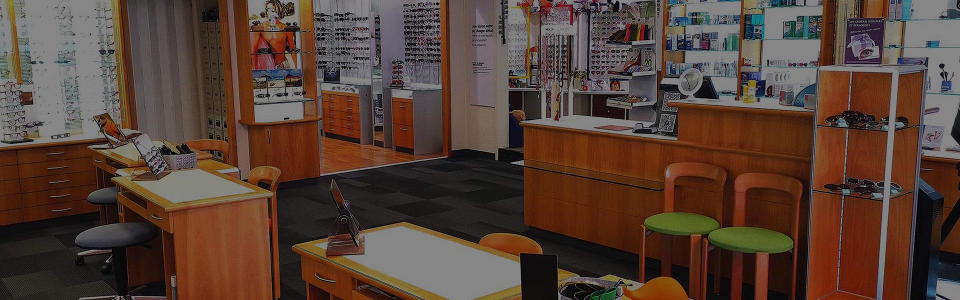 boutique Lindegger Optique à Genève