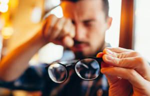correction d'astigmatisme avec lentilles de contact