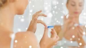 Soins d'hiver pour les lentilles de contact