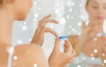 Tout ce qu'il faut savoir sur le port des lentilles de contact en hiver