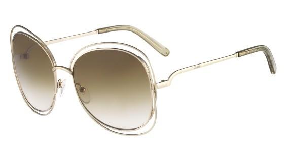 lunettes de soleil ChloéSolaire CE119S Vert
