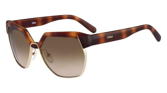 lunettes de soleil Chloé Solaire CE665S 214 Ecaille