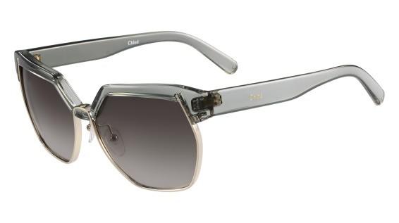 lunettes de soleil Chloé Solaire CE665S 317 Vert