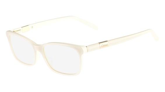 Lunettes de vue Chloé Optique CE2628 103 Blanc