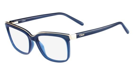Lunettes de vue Chloé Optique CE2661 424 Bleu