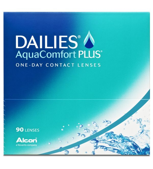 Dailies AquaComfort Plus One Day 90lc