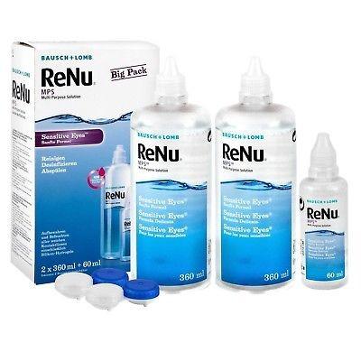 Renu MPS Sensitive Eyes 2x355ml+1x60ml
